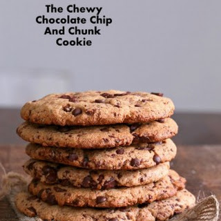 The Ultimate Giant Vegan Chocolate Chip & Chunk Cookies. Giant Vegan Chocolate Chip Cookie.