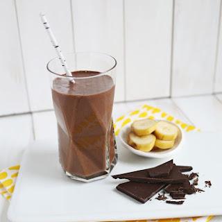 Healthy Chocolate Banana Shake March 03, 2014