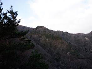 岩ヶ峰が見えてくる