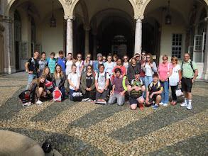 """Photo: 01/10/2014 - Liceo """"Copernico"""" di Torino. Classe IV A, gruppo misto studenti italiani e australiani."""