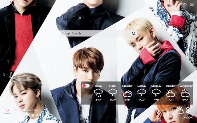 BTS  Bangtan New Tab, Wallpapers HD