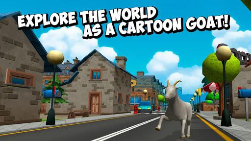 Cartoon Goat Rampage 3D