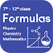 Physics, Chemistry and Maths Formulas Icon