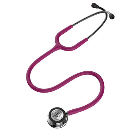 Littmann Classic III Stethoscope Mirror Chestpiece W- Raspberry Tube