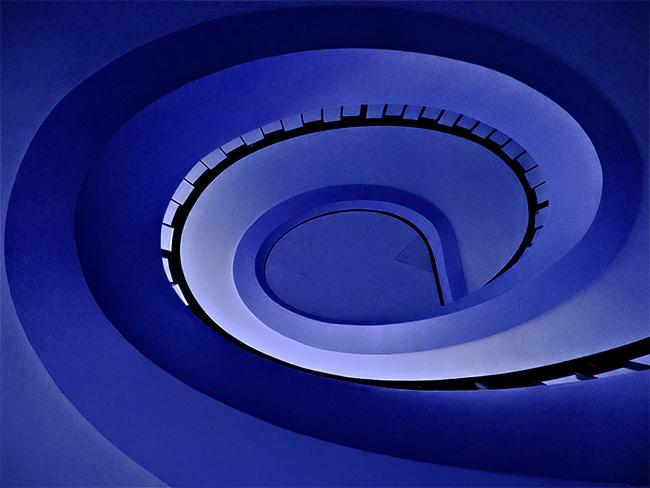 Vortice blu di batfabio
