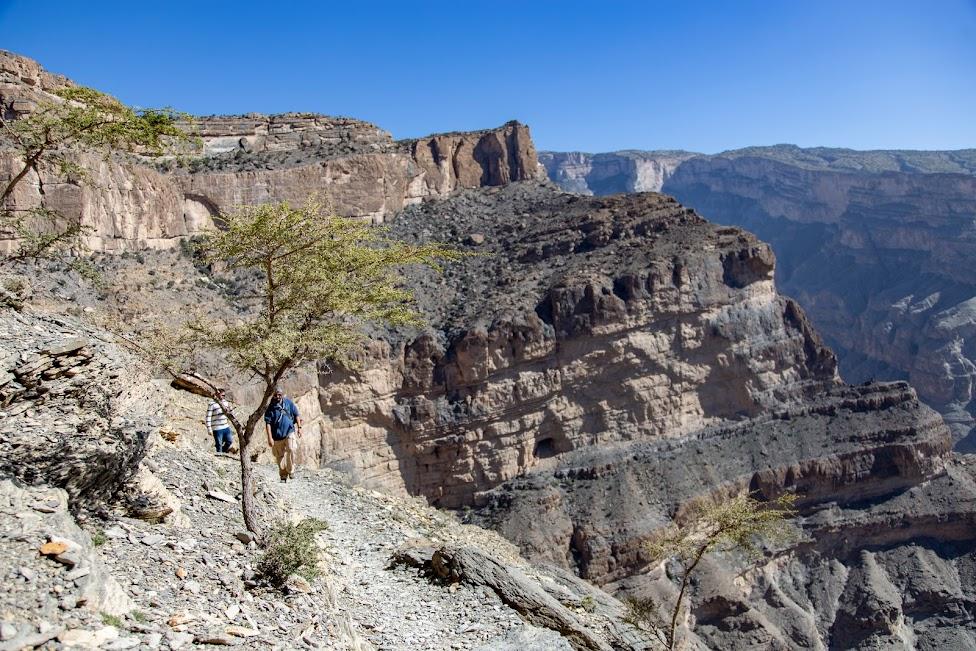 Wadi Ghul, Wielki Kanion Omanu, Oman