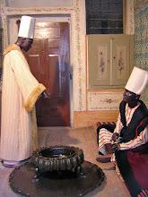 Photo: Topkapi Palace, Inside the Harem where the eunuchs kept watch ****** waar de eunuchen de wacht hielden