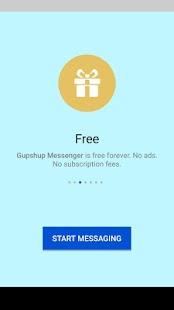 Gupshup Messenger - náhled