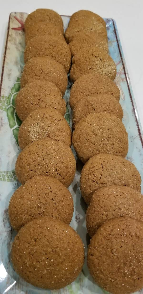 Old Fashioned Molasses Cookies Recipe