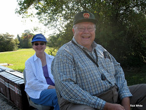 Photo: Mary Lou and Jerry Schoenberg    SWLS at HALS 2009-1106