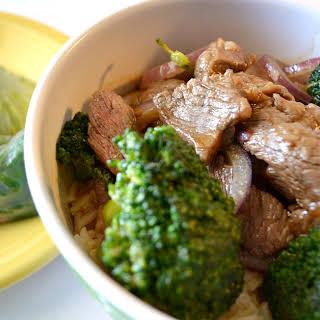 Week Night Broccoli Beef and Tuna Spring Rolls.