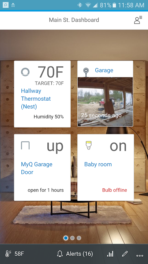 Home Alerts - works with Nest- screenshot
