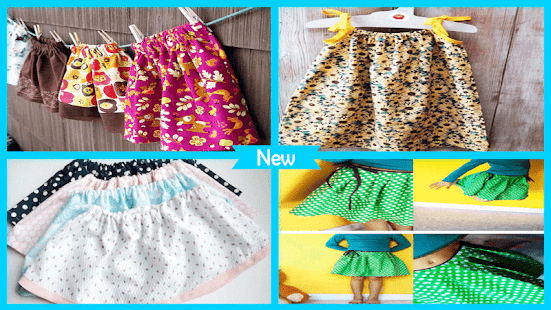 Pretty DIY Girls Skirts - náhled