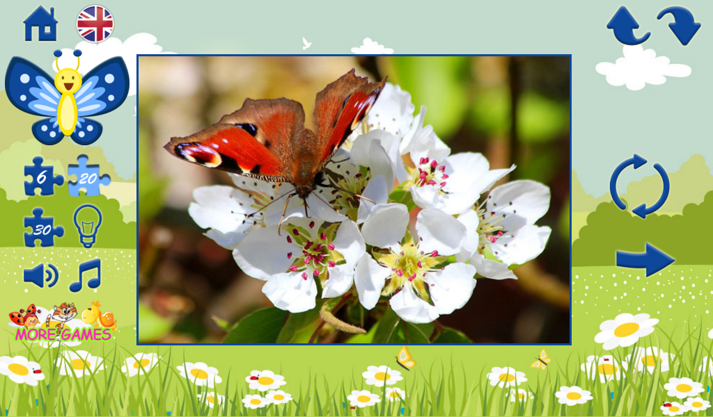 Puzzles for children: spring- screenshot