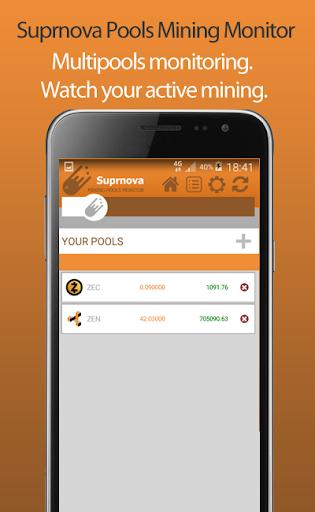 Suprnova Pools Mining Monitor  screenshots 5