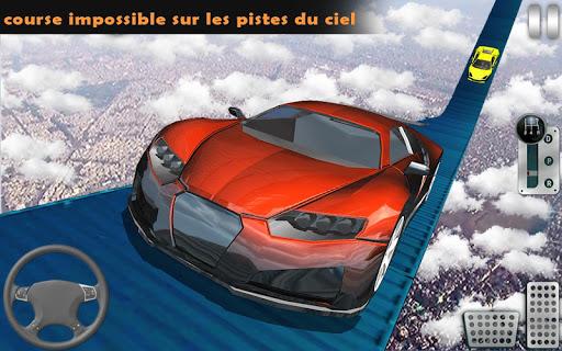 Code Triche impossible pistes voiture cascades au volant: Jeux apk mod screenshots 4