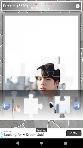 Jin BTS Game Puzzle android2mod screenshots 4