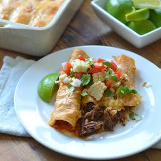 Shredded Beef Enchiladas