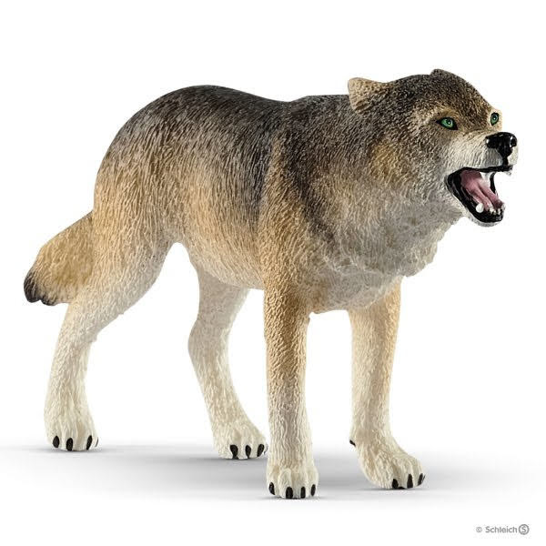Contenido real de Schleich® 14821 Lobo