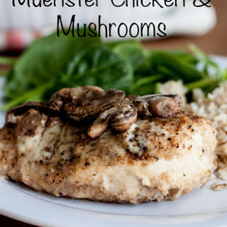 Muenster Chicken & Mushrooms