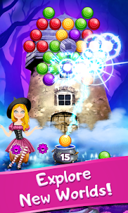 Alice in Magic Forest - Bubble Shooter - náhled