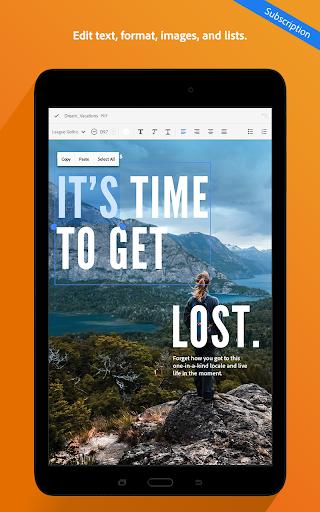 Adobe Acrobat Reader 18.5.1.8310 screenshots 14