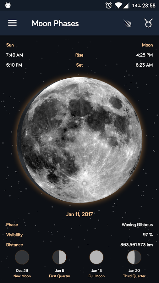 Moon Phases- screenshot