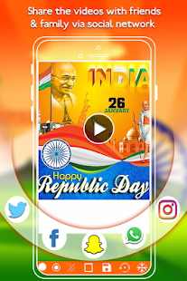 Republic Day Video Maker 2018 - náhled