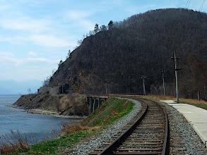 Photo: Circum-Baikal Railway near Old Angasolka