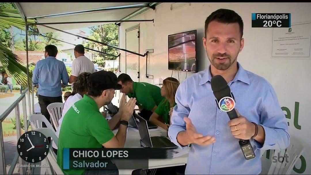Repórter Chico Lopes mostrará todos os detalhes direto de Roma para Salvador