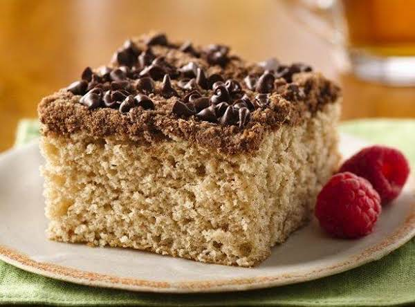 Dreamy Chocolate Streusel Coffee Cake