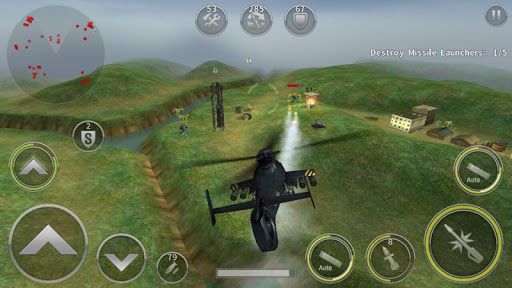 GUNSHIP BATTLE: Helicopter 3D fond d'écran 2