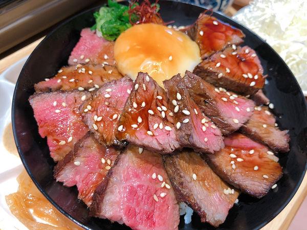 台中美食/ 大里區 嵐山熟成牛かつ專売 炸牛排 壽喜燒 丼飯