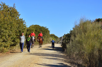 Photo: Part of the ecotourism itinerary, the via can only be followed on foot, by bicycle or on horseback.