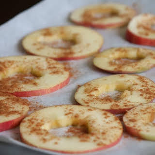 Baked Apple Chips.