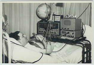 Photo: K9GHT Dale Engler Ward 9 N. VA Hospital in Wood, WI