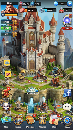 MythWars & Puzzles: RPG Match 3 screenshots 7