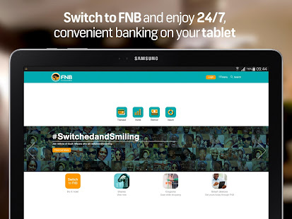 FNB Banking App for Tablet - AppRecs
