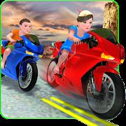 Download Game Kids MotorBike Rider Race 2