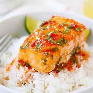 Sweet Chili Salmon.