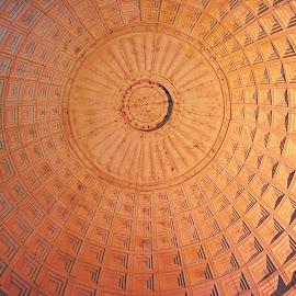 Roof Circle by Mulawardi Sutanto - Abstract Patterns ( abstrac, roof, semarang, mall, travel, circle )