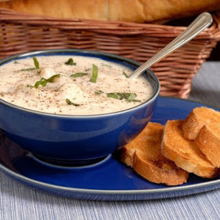 Potato Soup With Bryndza And Rusks