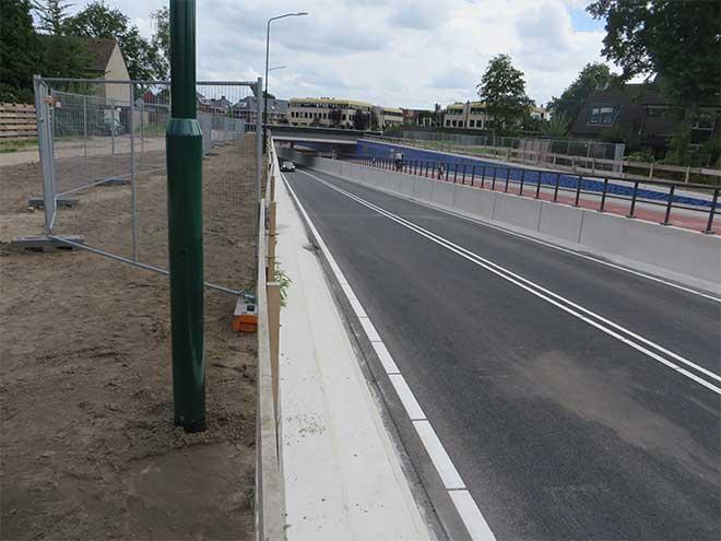 spooronderdoorgang Leijenseweg Bilthoven,  27 juli 2017, eerste dag in gebruik