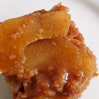 Apple Cider Sauce Cake
