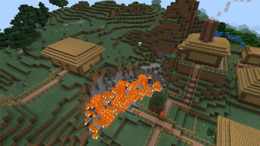 MCPEのための隕石マップ
