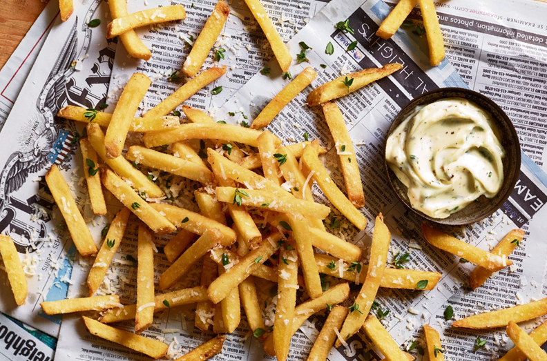 8. French fries