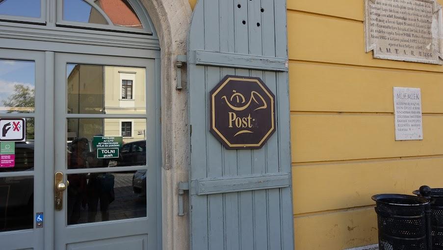 往教堂路上又經過郵局