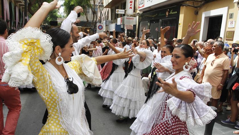 Imagen de archivo de la Feria del Mediodía.