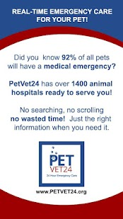 PetVet24- The Life Saving App- screenshot thumbnail