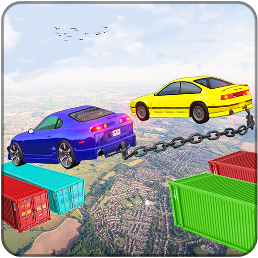 Chained Cars Impossible Tracks Stunt (game)